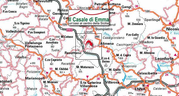 cartina sicilia centrale