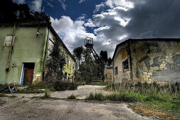 Miniera Gessolungo a Caltanissetta