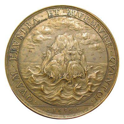 Moneta rappresentativa del Cardinal Mazzarino