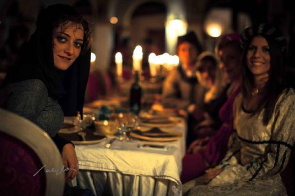 Una cena medievale in Sicilia