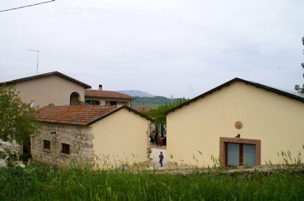 La struttura del Casale di Emma, centro congressi in Sicilia