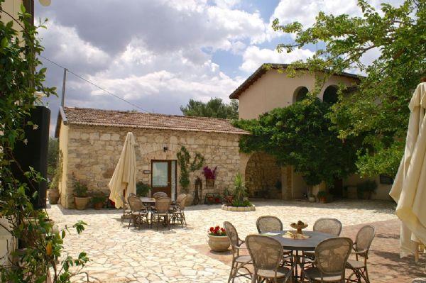 corte centrale del centro meeting in Sicilia