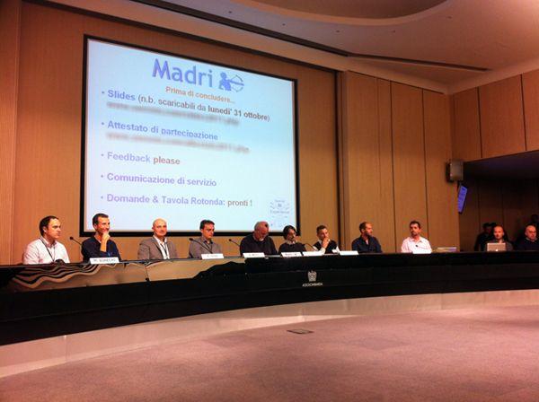 La tavola rotonda al termine del Seo Web Marketing Experience del 2011 tenutosi a Milano